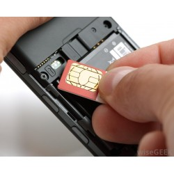 GSM SIM card based