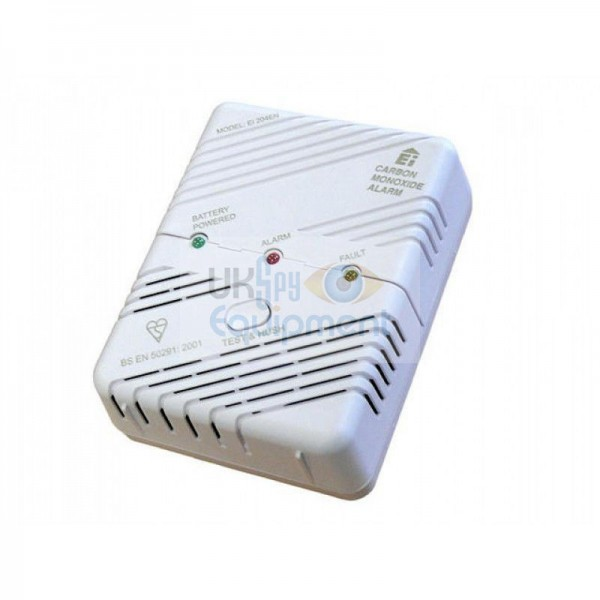 Decoy Carbon monoxide detector with Wi-Fi based hidden camera