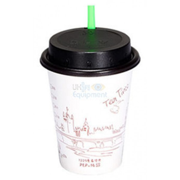 Universal Drinks Cup Lid with in-built Recorder