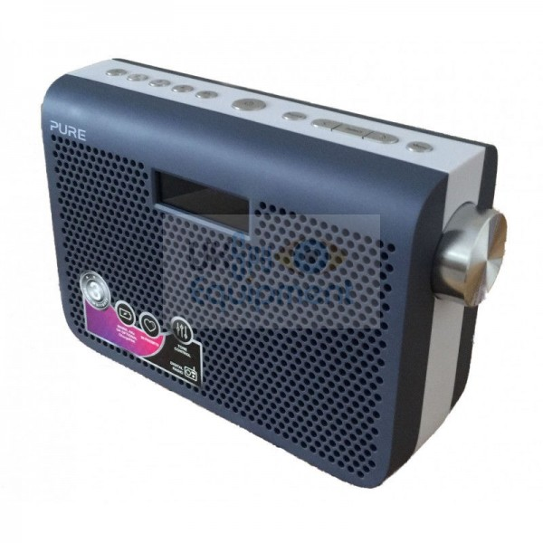 Pure digital DAB radio with Wi-Fi based hidden camera and optional night vision