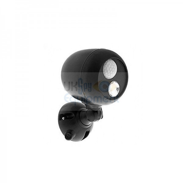 Outdoor Battery Powered Auto Invisible Light emitting Lamp with optional wireless movement alert