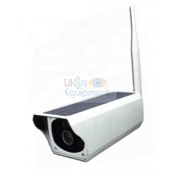 Overt / non hidden Sun Powered Wireless WiFi Security Camera
